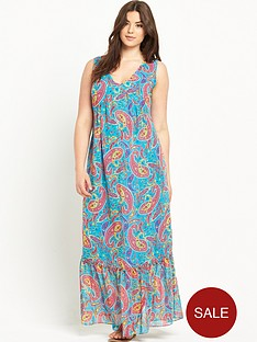 so-fabulous-frill-neck-print-maxi-dress-14-28