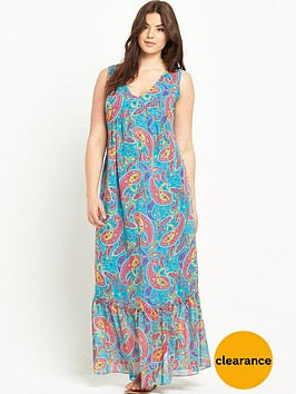 so-fabulous-frill-neck-print-maxi-dress-14-28
