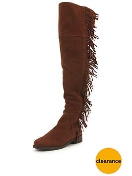 miss-selfridge-fringe-over-the-knee-boot