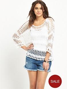 v-by-very-34-sleeve-macrameacutenbspweave-crochet-jumper