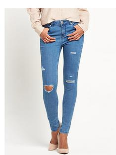 miss-selfridge-lizzie-pretty-blue-multi-rip-skinny-jeans