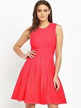 Nadyne Ottoman Ribbed Dress
