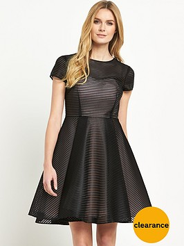 ted-baker-fit-and-flare-stripe-dress