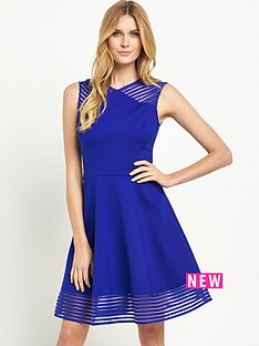 ted-baker-ted-baker-mesh-detail-skater-dress
