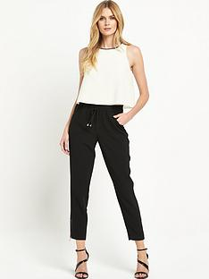 ted-baker-drape-top-textured-jumpsuit