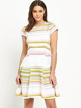 Ted Baker Carousel Stripe Skater Dress
