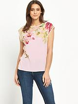 Ted Baker Encyclopdia Floral Print Tee