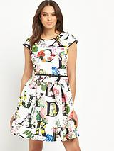 Ted Baker Ditzy Ottoman Skater Dress
