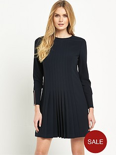 ted-baker-front-detail-pleat-dress