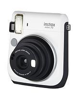 Instax Mini 70 Instant Camera - White inc 10 Shots