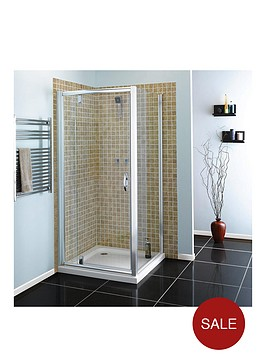 aqualux-800mm-pivot-shower-door-and-side-panel-package