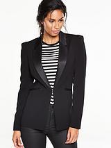 Satin Tux Jacket