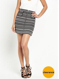 v-by-very-zip-jacquard-a-line-skirt
