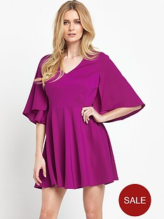 v-by-very-satin-back-crepe-cape-dress