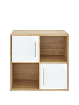 metro-storage-range-gloss-2-x-2-shelving-unit