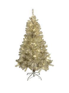 180cm-champagne-prelit-christmas-tree
