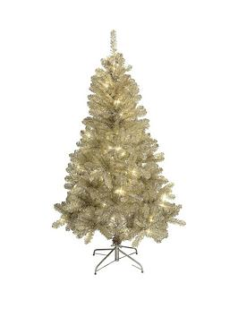 champagne-pre-lit-christmas-tree-180-cm