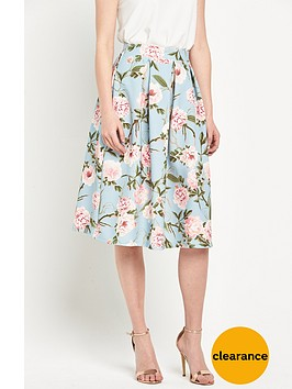 miss-selfridge-print-midi-skirtnbsp
