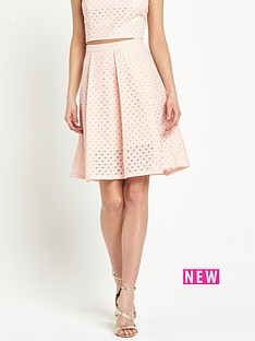 miss-selfridge-lace-petite-midi-skirt