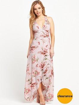 miss-selfridge-frill-wrap-maxi-dress