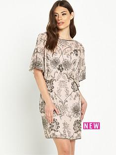 miss-selfridge-embellished-angel-sleeve-dress