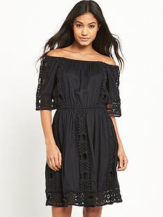 miss-selfridge-miss-selfridge-black-bardot-lace-dress