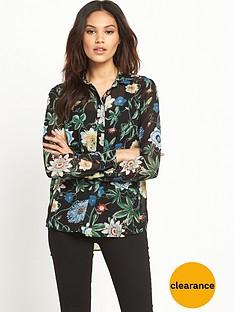 warehouse-botanical-print-blouse