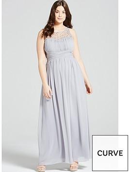little-mistress-curve-embellished-maxi-dress-grey