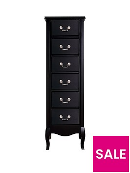 new-elyseenbsp6-drawer-narrownbspchest-plain-front