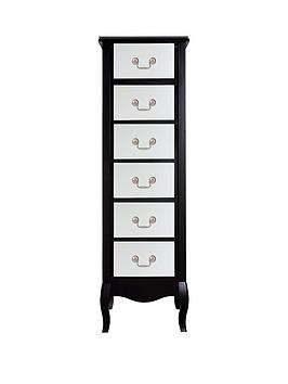 new-elyseenbsp6-drawer-narrow-chest-mirrored-front