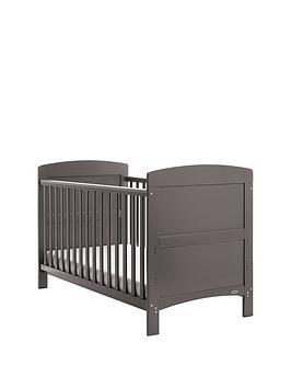 obaby-grace-cot-bed-amp-free-foam-mattress