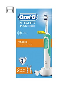 Oral-B Vitality Power Hand Trizone Electric Toothbrush