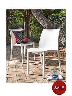 pair-of-white-sentonbspchairs