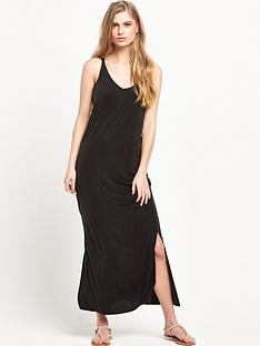 warehouse-cupro-midi-dress