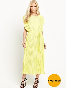 warehouse-pleated-midi-dress