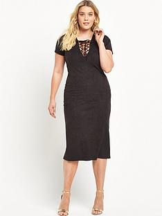 alice-you-cross-front-midi-dress