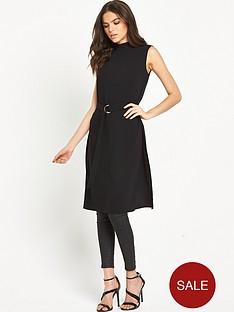 warehouse-d-ring-tunic-dress