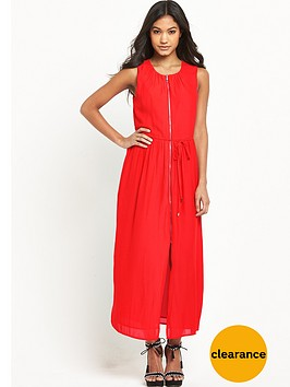 warehouse-zip-through-midi-dress