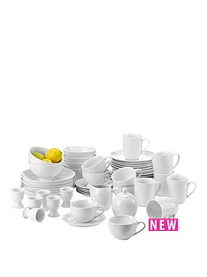 white-50pc-round-dinner-set