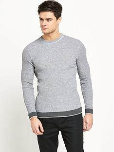 river-island-textured-mens-jumper