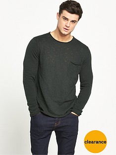 river-island-lightweight-knitted-long-sleeve-top