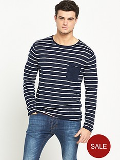 river-island-lightweight-knitted-long-sleeve-top