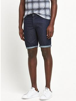 river-island-denim-turn-up-shorts