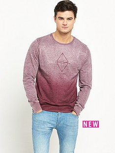 river-island-faded-chicago-mens-sweatshirt