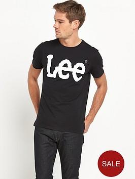 lee-logo-t-shirt-black
