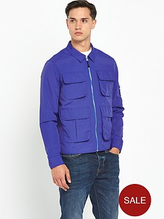river-island-zip-up-pocket-lightweight-jacket