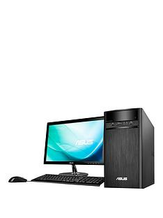 asus-k31an-uk002t-intel-pentium-4gb-ram-1tb-hard-drive-215-inch-desktop-base-unit-with-optional-microsoft-office-365-personal-black