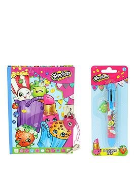 shopkins-lockable-diary-amp-multicolour-pen