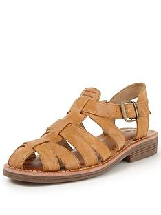 cat-sanders-leather-woven-flat-shoe