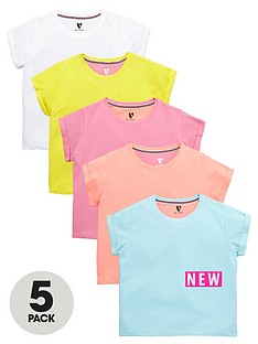 v-by-very-girls-bright-t-shirts-5-pack